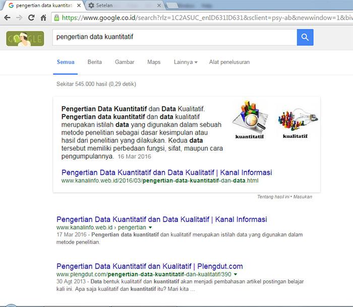 Cuplikan Unggulan di Hasil Penelusuran Google